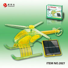 Solar Helicopter Science Environment Education Kit, Assembly Req.,10+ (Green)