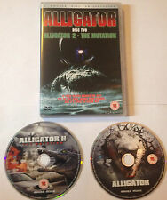 ALLIGATOR + ALLIGATOR 2 THE MUTATION - DVD BOXSET -  ANCHOR BAY HORROR -  RARE