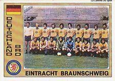 N°043 EINTRACHT BRAUNSCHWEIG TEAM EURO FOOTBALL 76 STICKER PANINI DEUTSCHLAND
