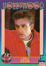 James Dean, Actor, Hollywood Star, Walk of Fame Trading Card --- NOT Postcard