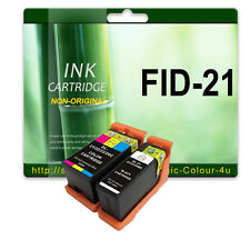 2 Ink Cartridges for DELL V313 V313W V515W P513W P713W V715W 21 22 23 24 BK C