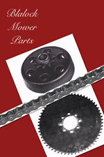 "457-9320-8247 GoKart.Max-Torque 3/4""bore 10 T-Clutch,3ft.#41 Chain 48T Sprocket"