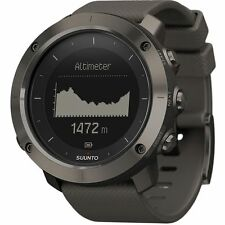 New Suunto SS022226000 Traverse Graphite Digital Quartz Watch, Round 50.0mm Case