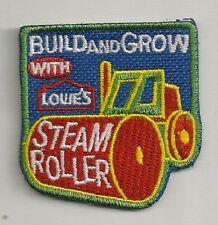 Lowe's Build & Grow Kids Workshop Collectible Patch: Steam Roller