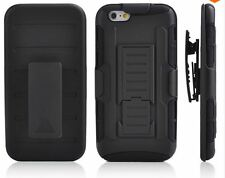 Apple IPhone 6 / 6s Hard Shockproof Heavy Duty protective Case With Belt Clip