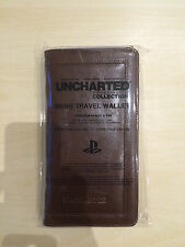 Uncharted Trilogy Press Wallet + Passport Holder (RARE)