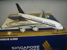 "JC Wings 200 Singapore Airlines SQ A380-800  ""First A380"" 1:200 DIECAST 9V-SKA"