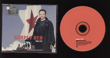 CD SINGLE SIMPLY RED YOUR EYES (EDIT) FOR PROMOTIONAL USE ONLY NOT FOR SALE COPY