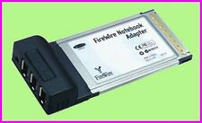 ** Belkin 3-PORT FireWire PCMCIA PC / MAC F5U512 NEW **