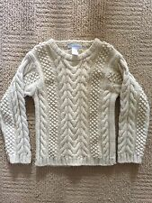 Janie and Jack Boys Wool Sweater Size 5T EUC Beige Holiday