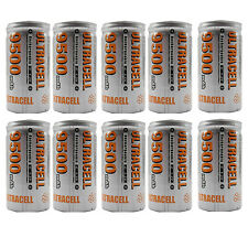 12PCS C 9500mAh 1.2V Ni-MH Rechargeable Battery RC Toy Radio Torch UltraCell