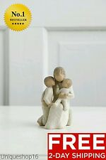 """WILLOW TREE """"QUIETLY"""" HOME DECOR ROOM SCULPTURE CHRISTMAS GIFT MOTHER WIFE CHILD"""