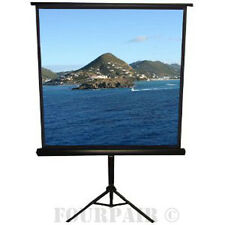 Tripod Portable Projector Projection Screen, 1:1 Aspect Ratio, Matte White - 67""