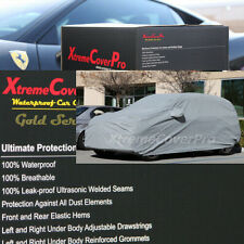 2015 MAZDA MAZDA5 Waterproof Car Cover w/Mirror Pockets - Gray