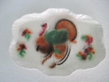 Vintage 1959 Thanksgiving Turkey Serving Platter Lane & Co. Van Nuys,CA NO CHIPS