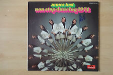 """James Last Autogramm signed LP-Cover """"Non Stop Dancing 1974"""" Vinyl"""