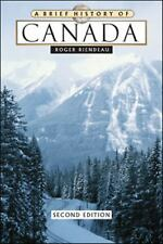A Brief History of Canada by Roger E. Riendeau (2007, Hardcover, Revised)