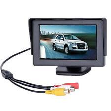 "4,3"" TFT LCD Monitor Auto Mini Rückfahrkamera Camera DVD VCR Rückfahrsystem CY"