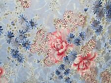 2 yards stretch lace fabric floral print