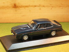 Vanguards VA10813 Ford Capri 280 Brooklands in Green 1/43rd scale