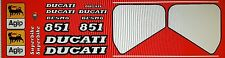 DUCATI 851 MODEL SP3 PAINTWORK DECAL KIT