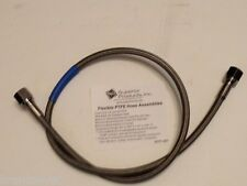 """High Pressure Braided Stainless Hose 36"""" - Cleaned for Oxygen (PTFE Hose)"""