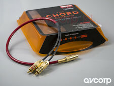 SALE OFF! Chord Crimson subwoofer splitter - 1F-2MM RCA (from MONO to Y) RRP £50