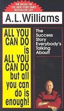 A Williams - All You Can Do Is All You Can (1989) - Used - Mass Market (Pap
