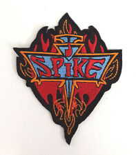 "Buffy the Vampire Slayer/Spike 3.5"" Red Flame Logo Patch- FREE S&H  (BVPA-03)"