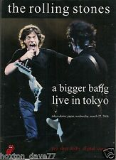 ROLLING STONES Tokyo Dome MARCH 22 2006 Pro-Shot DVD Psych GLAM Beat THE FACES