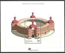 Portugal - 100 Jahre Stierkampf Campo Pequeno Block 92 postfrisch 1992  Mi.1945