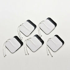 10X White Replacement Tens ELECTRODE PADS Massage Electrode Tens Units 5x5MY RJG