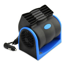 DC 12V Auto Car Air Fan Truck Boat 2-Speed Adjustable Silent Blower Cage Design