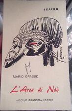 Teatro -L'Arca di Noè - Mario Grasso - Niccolò Giannotta Editore (1970)