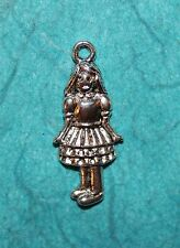 Pendant Girl Charm Alice in Wonderland Charm Doll Charm Daughter Charm Princess
