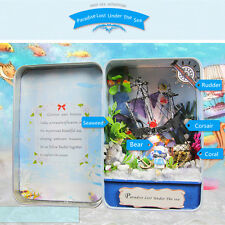 Hoomeda E005 Paradise Lost Under The Sea DIY Dollhouse Kit Box Theater Collectio