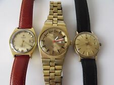 COLLECTION OF VINTAGE TISSOT WRIST WATCHES