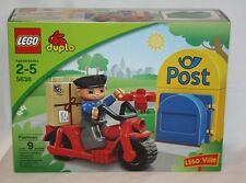 LEGO Duplo Ville Postman (5638) NEW Factory Sealed