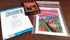 Atari 2600 Swordquest Waterworld - Earthworld - Fireworld Manuals Rare
