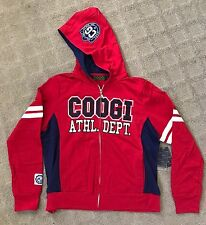 NWT COOGI Womens Sweatsuit SET Hoodie Jacket Sweat Pants Red Size 1X XL $168