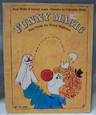 Funny Magic-Easy Tricks for Young Magicians by Rose Wyler/Gerald Ames, PB, 1973