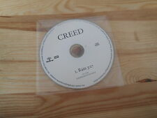 CD Pop Creed - Rain (1 Song) Promo WIND-UP - disc only -