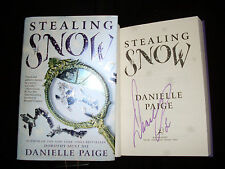 Danielle Paige signed Stealing Snow 1st printing hardcover book