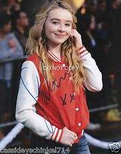 "Sabrina Carpenter of Girl Meets World Reprint Signed 8x10"" photo #2 RP"