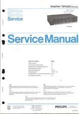 Philips original manual de servicio para 70 fa 561