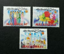 25 Years Of Asean Malaysia 1992 Landmark Traditional Costumes Flower (stamp) MNH
