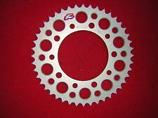 Yamaha R6 99-02 43T Renthal Ultralight RACE Rear Alloy Sprocket. 520 Pitch. New