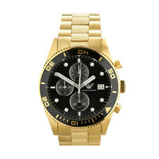 Emporio Armani AR5857 Men's PVD Gold Plated Chronograph Watch