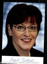 Ingrid Fischbach TOP Foto 90er Jahre Original Signiert +8357