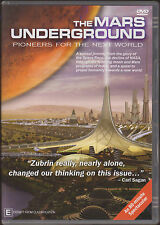 THE MARS UNDERGROUND - PIONEERS FOR THE NEXT WORLD * NEW SEALED DVD - ALL REGION